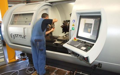 Een nieuwe Style CNC Draaibank
