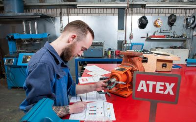 Machinefabriek Saedt ATEX gecertificeerd